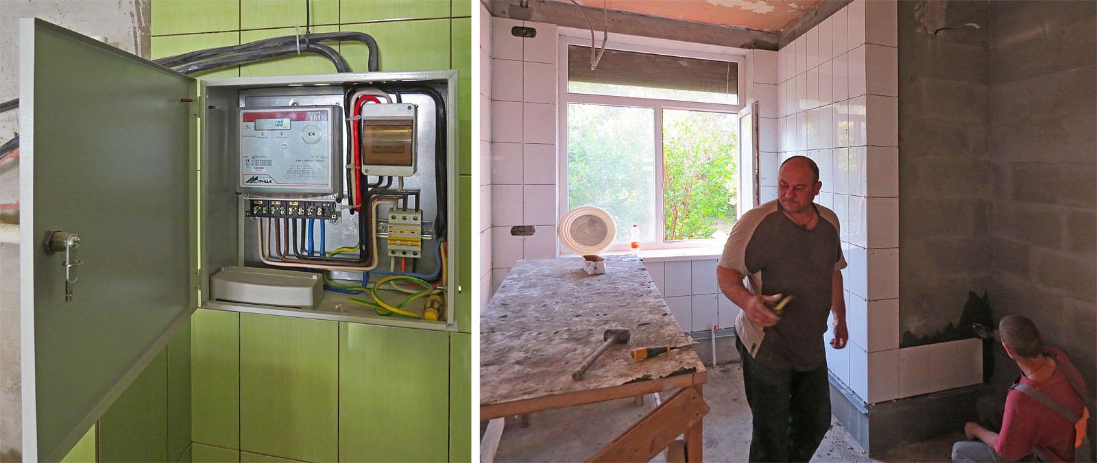 Радуемся приближению чистой кухни, но сразу появляется море новых задач.