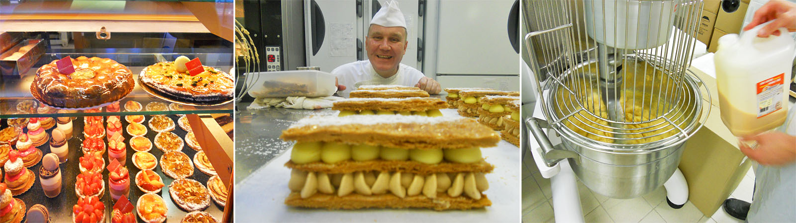 Юрий действительно опытный шеф-пекарь. Есть чему поучиться.