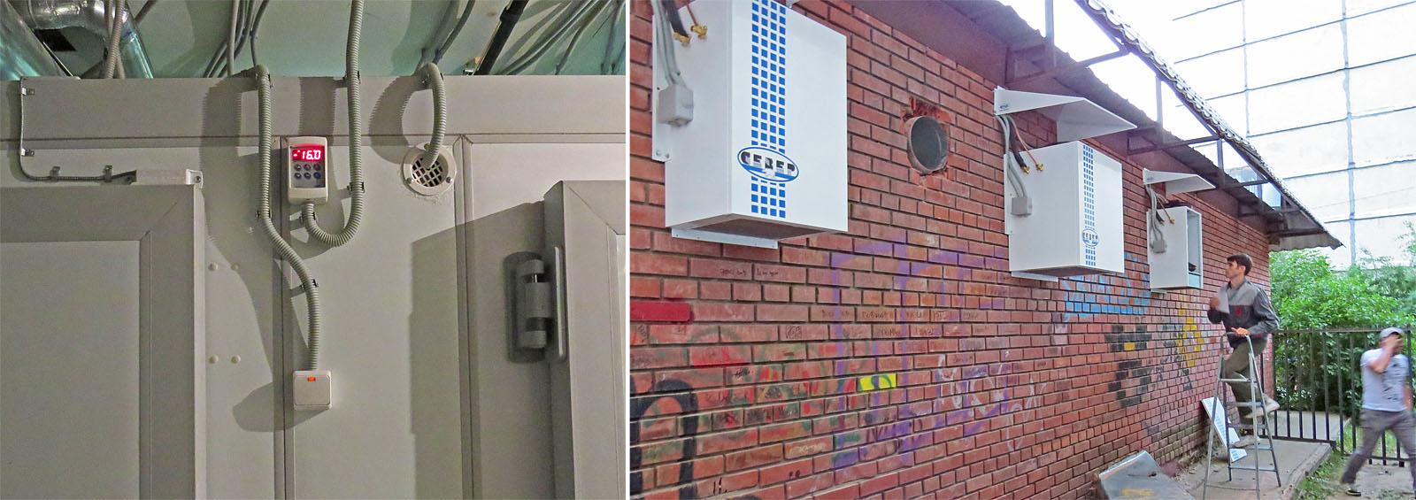 Холодильные агрегаты порадовали своей тихой работой.